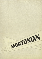 Centerville Senior High School - Mortonian Yearbook (Centerville, IN) online yearbook collection, 1954 Edition, Cover