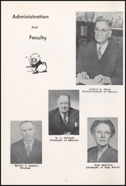 Page 6, 1954 Edition, Centerville Senior High School - Mortonian Yearbook (Centerville, IN) online yearbook collection