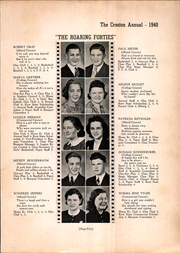 Creston High School - Annual Yearbook (Creston, OH) online yearbook collection, 1940 Edition, Page 7
