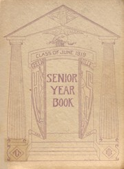 Greenville High School - Trojan Yearbook (Greenville, PA) online yearbook collection, 1919 Edition, Cover