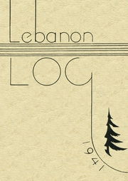 Mount Lebanon High School - Lebanon Log Yearbook (Pittsburgh, PA) online yearbook collection, 1941 Edition, Cover