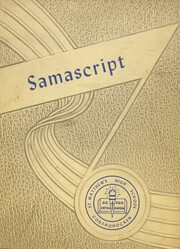 St Matthews High School - Samascript Yearbook (Conshohocken, PA) online yearbook collection, 1953 Edition, Cover