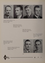 Worcester Polytechnic Institute - Peddler Yearbook (Worcester, MA) online yearbook collection, 1940 Edition, Page 52
